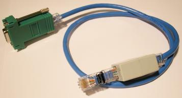 cisco console cable photo